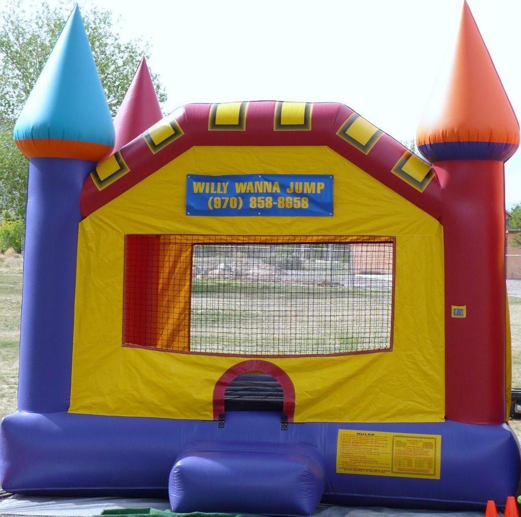Castle II bounce house
