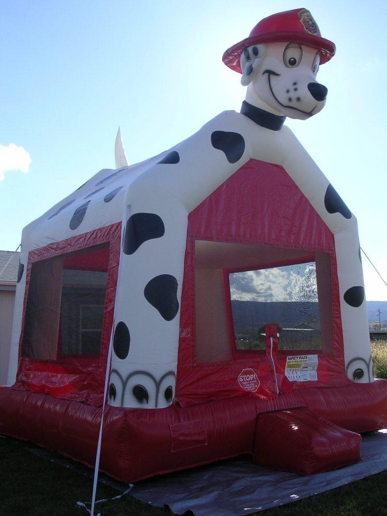 Dalmatian Dog bounce house