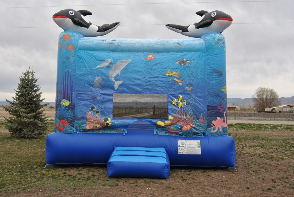 Under the Sea bounce house